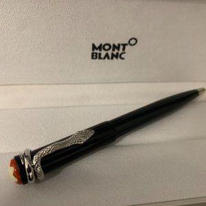 Montblanc Rouge et Noir Black Ballpoint Pen